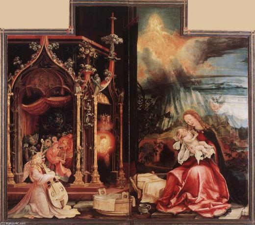 El Concierto de los Ángeles y Navidad (1515)